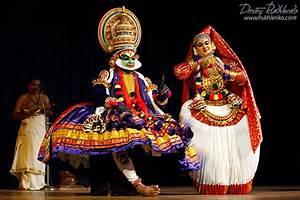 Kathakali dance. Bhava Bhavanam Festival. September 2009 ...