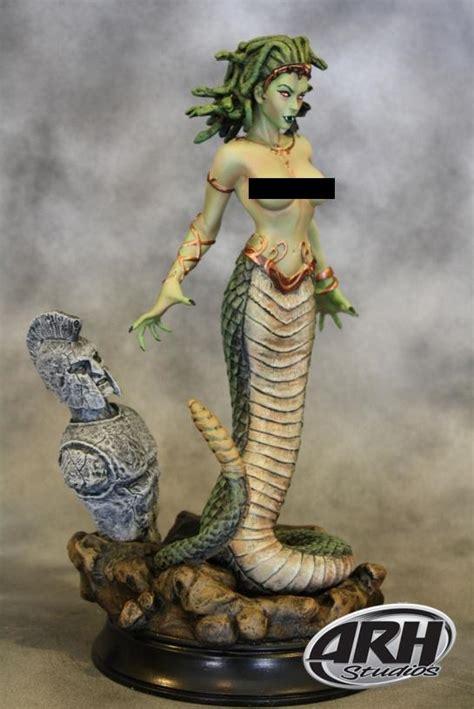 buy toys  models medusa snake tail  top statue