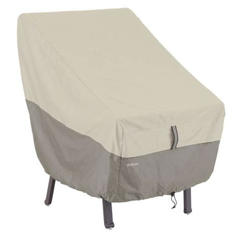 High Chair Covers At Walmart by Classic Accessories Belltown High Back Chair Cover Grey