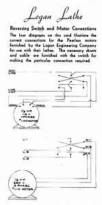 Logan Lathe Wiring Diagram