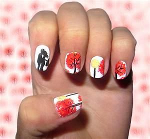 fall nail design ideas easyday