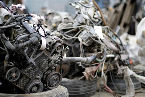 car parts creams dismantling scrap