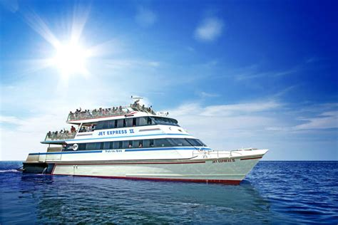 Boat Rides In Cleveland by Jet Express Sightseeing Tours Cleveland Boating And