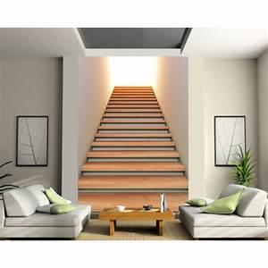 Decoration Murale Montee Escalier : papier peint grand format mont e d 39 escalier stickers ~ Dailycaller-alerts.com Idées de Décoration