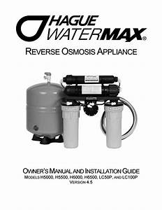 Hague Water Systems Dallas  Dallas Water Filtration By