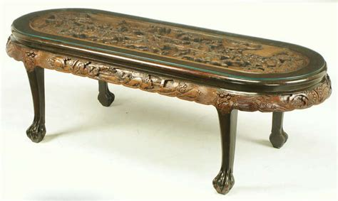 Chinese Oval Coffee Table With Hand-carved Battle Scene Coffee Bar Vancouver Events Callie's In Zion Il Cuban Albuquerque Your Kitchen Commercial Cold Brew Maker Uk Products Bodum Filter Stuck