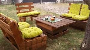 Recyclage Palette : recyclage palettes en bois bricolage maison et d coration ~ Melissatoandfro.com Idées de Décoration