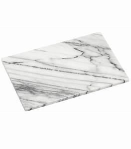 Planche À Découper Marbre : planche d couper rectangulaire en marbre blanc ~ Melissatoandfro.com Idées de Décoration