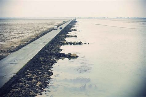 This Crazy Road In France Disappears Underwater Twice A Day