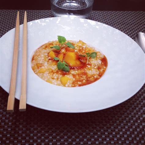 cyril lignac cuisine attitude perles du japon au lait de coco et mangues caramélisées