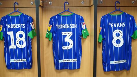Wigan Athletic FC - Match worn Wigan Athletic shirts from ...