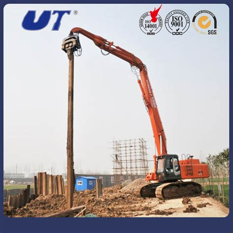 china  tons excavator piling machine rotating type hydraulic pile hammer china hydraulic