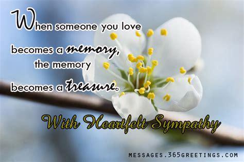 sympathy message sympathy message