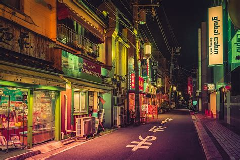 deserted japan street instagram facebook px