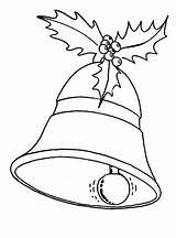 Christmas Drawing Coloring Pages Ornaments Bell Bells Decorations Ornament Drawings Tree Colouring Natal Google Sheets Merry Template Veon Le Printable sketch template