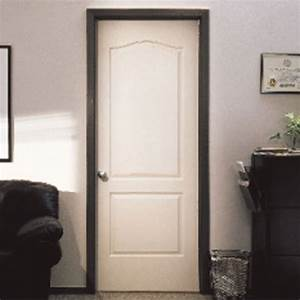 2 panel hollow core interior door rona With peindre porte interieure 2 couleurs