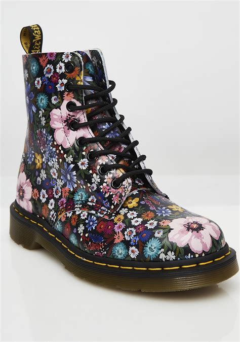 Martens Wanderlust Flower Boots Awesome Shit