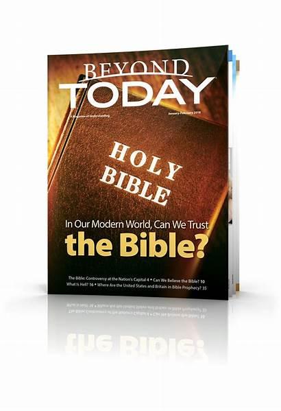 Beyond Today Magazine February January God Bible