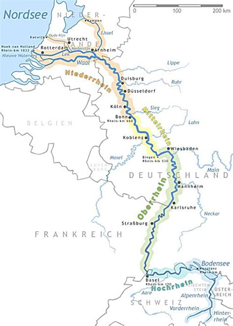 Hunte Fluss Karte