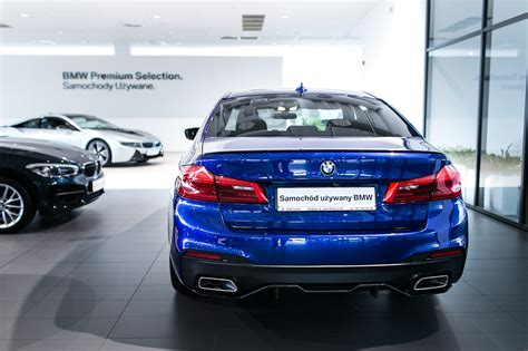 Individual 540i  San Marino Blue M Performance Parts