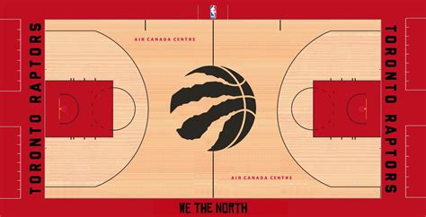 Raptors New Court Design for 15/16 - RealGM