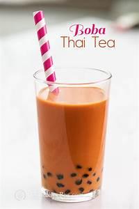 Thai Bubble Tea Recipe and Best Boba Thai Tea Recipe