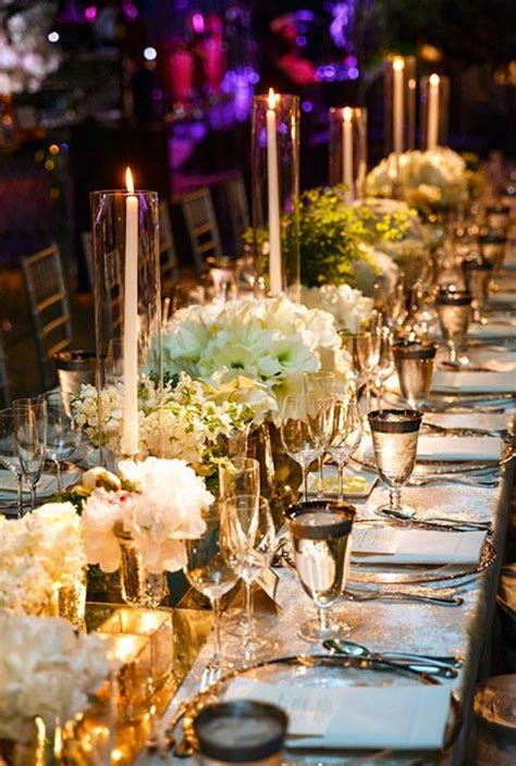 Just beautiful Candle lit wedding Wedding decor elegant