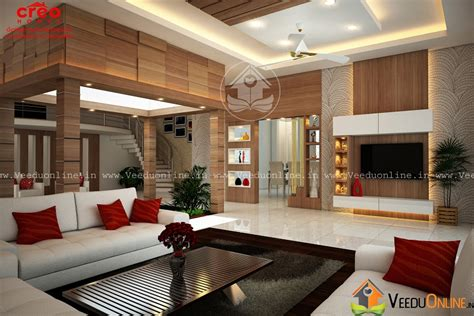 Home Interior Design : Fascinating Contemporary Home Living Room Interior Design