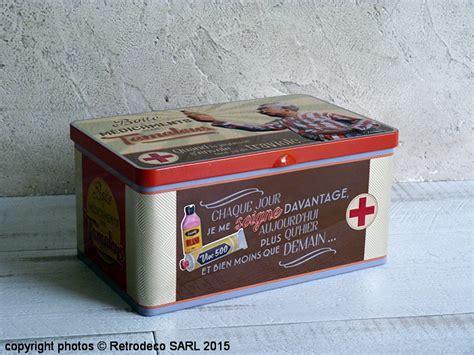 torchons et serviettes cuisine boîte à pharmacie les tamalous déco vintage natives 511660