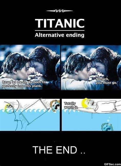 Titanic Funny Memes - funny picture clip funny pictures blog titanic alternative ending