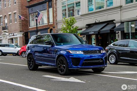 Range Rover Svr 2018 by Land Rover Range Rover Sport Svr 2018 24 September 2018