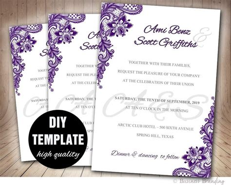 invitation design template wedding invitation free sle