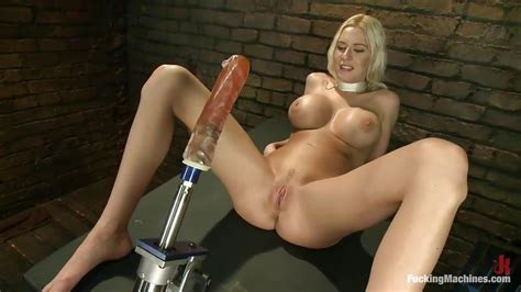 Riley Evans In Big Boobs Big Dildo Tight Pussy Hd From Kink Fucking Machines