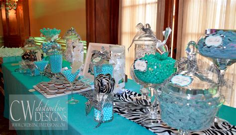 tiffany buffet table ls baby boy shower ideas cw distinctive designs