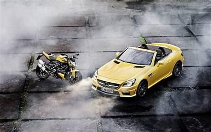 Mercedes Benz Amg Slk Streetfighter Ducati Motorcycle