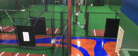 Deck Batting Cages Baton by Indoor Fixed Shell Batting Cages On Deck Sports
