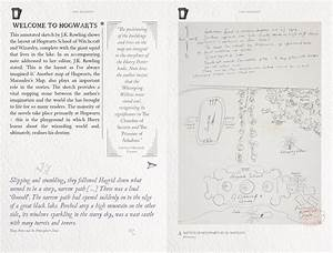 Map Of Hogwarts For Bloomsbury RowlingWritings