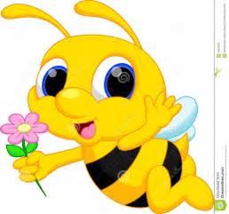 Cute Girl Bumble Bee Cartoons