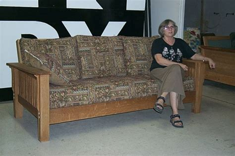 Mission Style Sleeper Sofa by Sleeper Sofa Mission Craft Furniture
