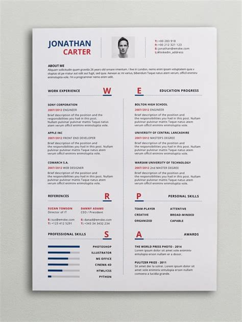 Modern Cv Format by Modern Curriculum Vitae Format Ideal Vistalist Co