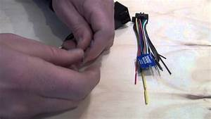 Wiring Harness Adapter For Installation Of Aftermarket