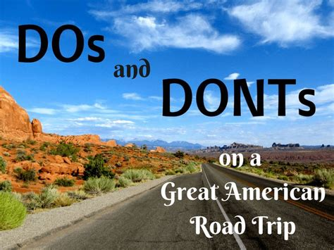 Road Trips, Cross Country And