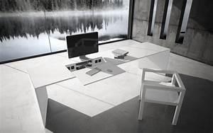 Design Schreibtisch Weiß : commentor schreibtisch multimedia tische von rechteck architonic ~ Heinz-duthel.com Haus und Dekorationen