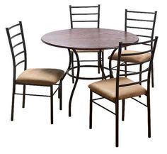 dining tables chairs cascade faux marble 5