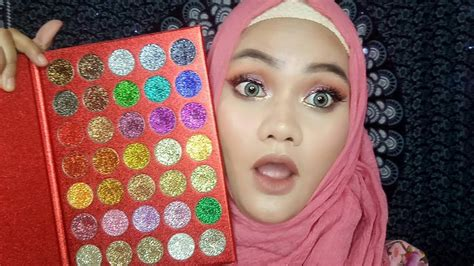 Harga Inez Pallete kara glitter palette inez eyeshadow palette review