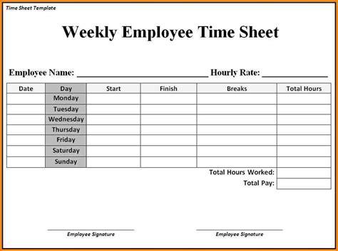blank time sheets printable printable 360 degree