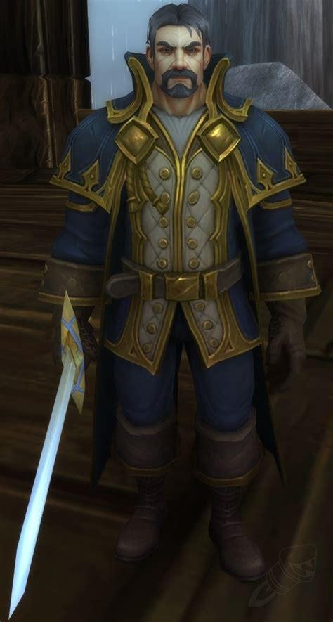 king genn greymane npc world  warcraft