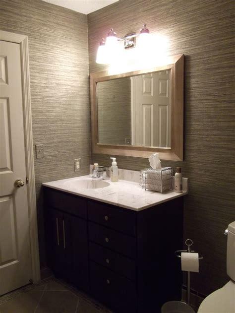 vinyl grasscloth wallpaper bathroom  grasscloth