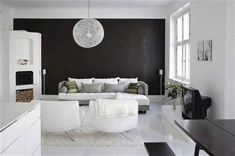 White Interior Design : Black And White Interior Design (black And White Interior