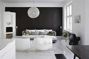 Black And White Interior Design (Black And White Interior ...
